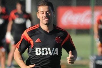 Rodrigo Mora entrenamiento
