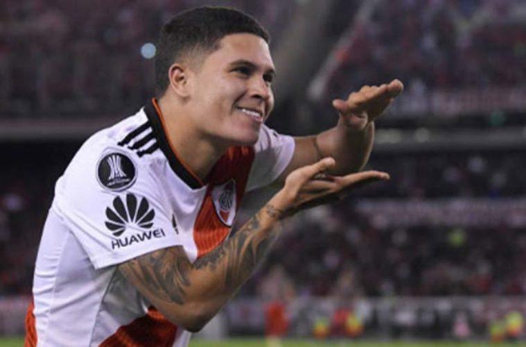 Juanfer Quintero se va de River