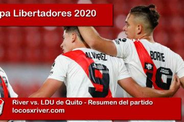 River Copa Libertadores 2020