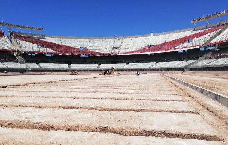 Obras Estadio Monumental River Plate
