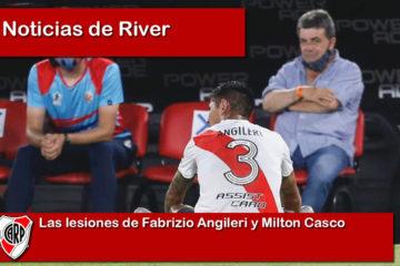 Las lesiones de Fabrizio Angileri y Milton Casco