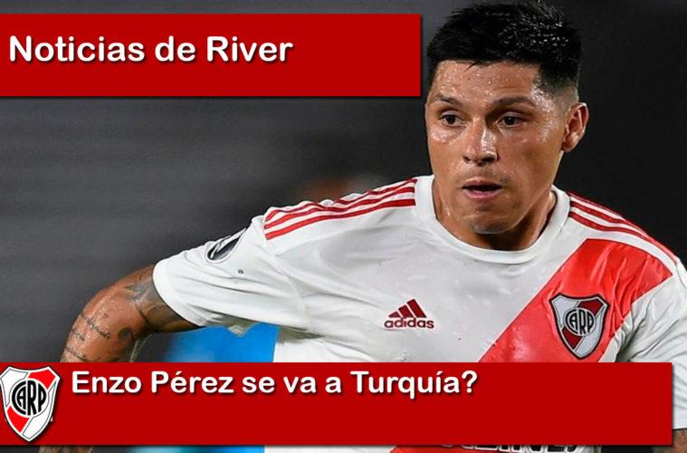 Enzo Pérez se va a Turquía?