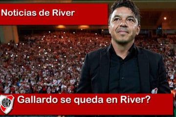 Gallardo se queda en River?