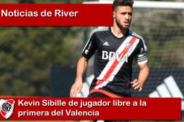 Kevin Sibille de jugador libre a la primera del Valencia