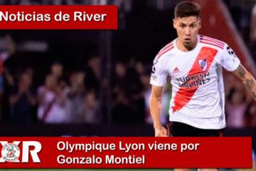 Olympique Lyon viene por Gonzalo Montiel