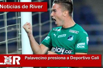 Palavecino presiona a Deportivo Cali