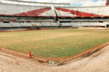 obras en el Estadio Monumental
