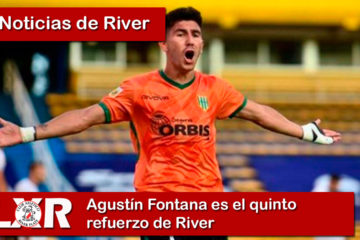 Agustín Fontana es el quinto refuerzo de River
