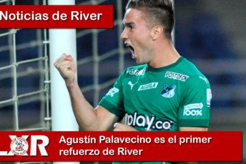Agustín Palavecino es el primer refuerzo de River