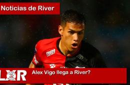 Alex Vigo llega a River