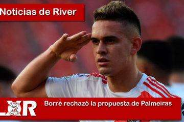 Borré decidió rechazar la propuesta de Palmeiras