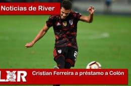 Cristian Ferreira a préstamo a ColónCristian Ferreira a préstamo a Colón
