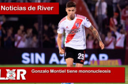 Gonzalo Montiel tiene mononucleosis