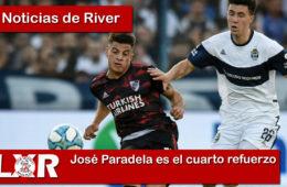 José Paradela es el cuarto refuerzo de River