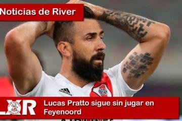 Lucas Pratto sigue sin jugar en Feyenoord