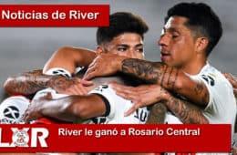 River le ganó a Rosario Central