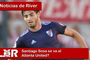 Santiago Sosa se va al Atlanta United