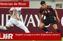 Angileri no jugará contra Argentinos Juniors