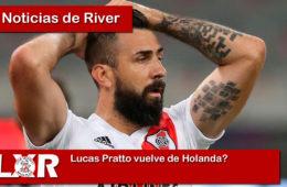 Lucas Pratto vuelve de Holanda?