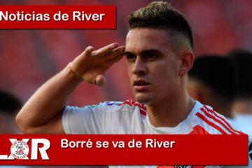 Rafael Santos Borré se va de River