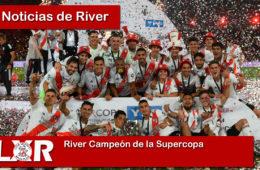 River Campeón de la Supercopa