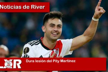 Dura lesión del Pity Martínez