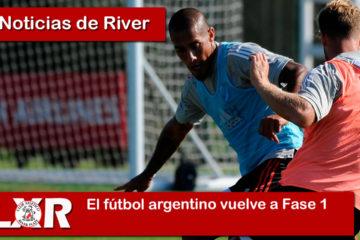 El fútbol argentino vuelve a Fase 1