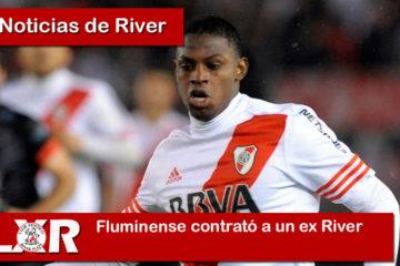 Fluminense contrató a un ex River