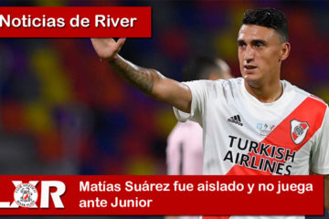 Matías Suárez fue aislado y no juega ante Junior