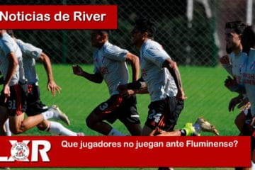 que jugadores no juegan ante Fluminense