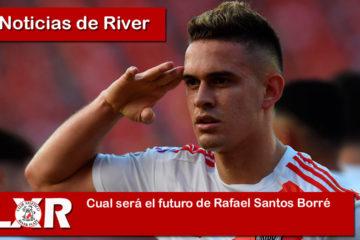 Cual será el futuro de Rafael Santos Borré