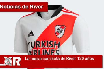 La nueva camiseta de River 120 años