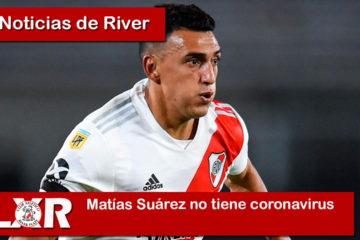 Matías Suárez no tiene coronavirus