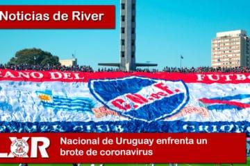 Nacional de Uruguay enfrenta un brote de coronavirus