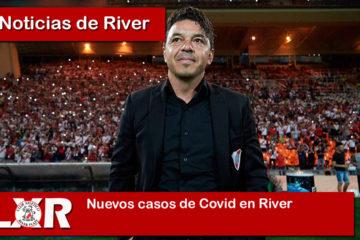 Nuevos casos de Covid en River