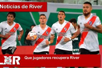 Que jugadores recupera River