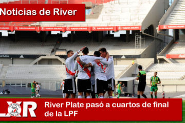 River Plate pasó a cuartos de final de la LPF