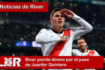 River pierde dinero por el pase de Juanfer Quintero