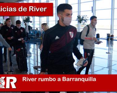River rumbo a Barranquilla