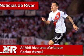 Al-Ahli hizo una oferta por Carlos Auzqui