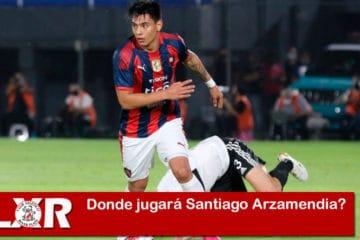 Donde jugará Santiago Arzamendia