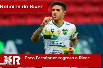 Enzo Fernández regresa a River