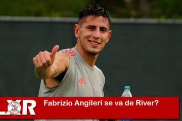 Fabrizio Angileri se va de River