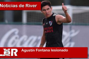 Agustín Fontana lesionado