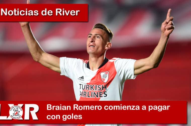 Braian Romero comienza a pagar con goles