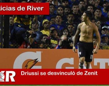Driussi se desvinculó de Zenit