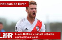 Lucas Beltrán y Nahuel Gallardo a préstamo a Colón