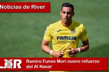 Ramiro Funes Mori nuevo refuerzo del Al Nassr