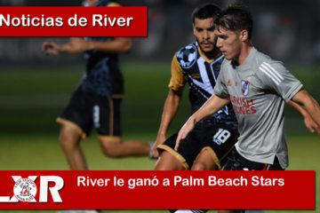 River le ganó a Palm Beach Stars