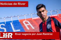 River negocia por Juan Ramírez
